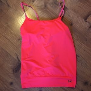 Under Armour large built in bra tank